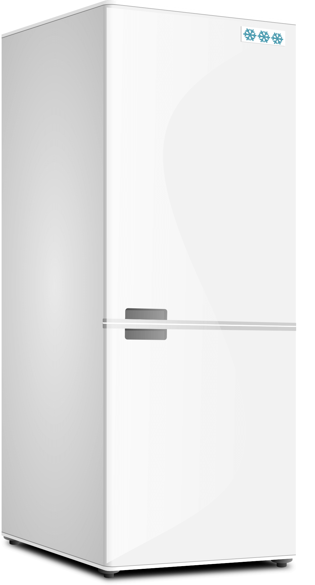 Холодильник картинки на белом фоне