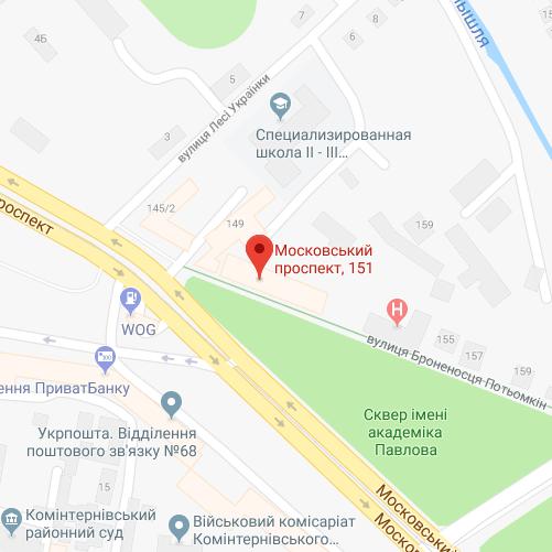 Московский проспект 151 офис 107
